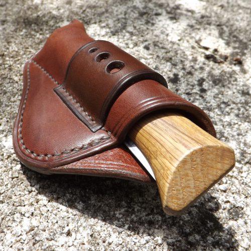 Étui Opinel N°8 cuir marron