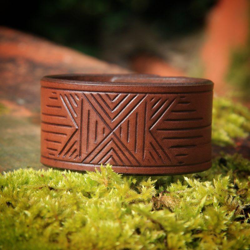 Bracelet cuir homme GeoMorphiK
