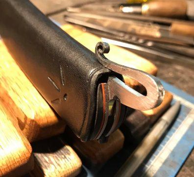 Étui cuir couteau Tamanta - Passion d'en fer