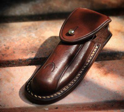 Nontron leather case