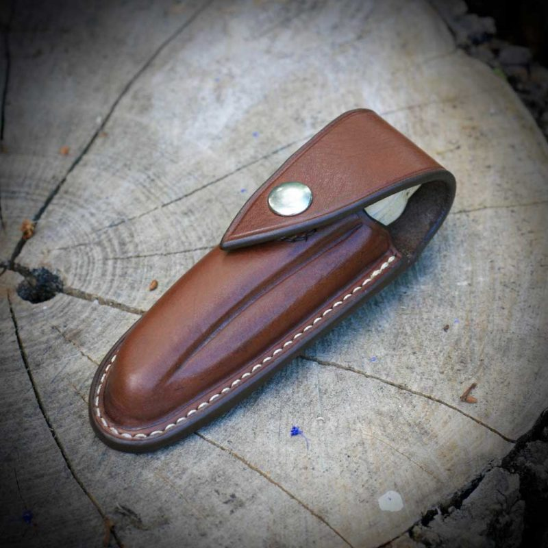 Ardea Skua cutlery leather case