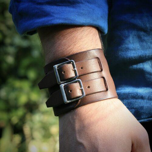 Bracelet de force forgeron light - Porté