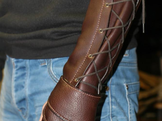 Gant manchette archer