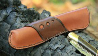 Laguiole leather case